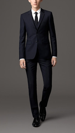 Burberry - Slim Fit Wool Mohair Three-Piece Suit