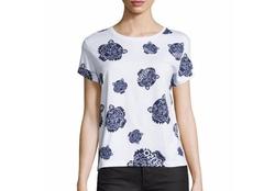 Kenzo  - Allover Tiger-Print T-Shirt