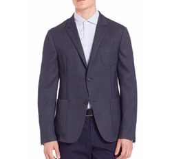Z Zegna  - Dot Wool Jacket