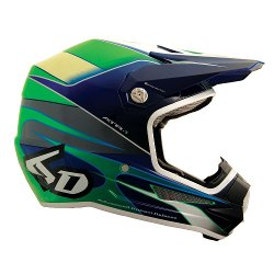 6D - Hornet Graphic Youth Motorcycle Helmet