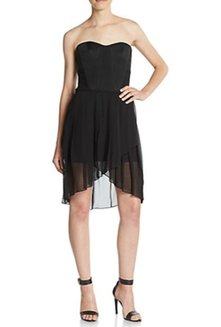 BCBGMAXAZRIA  - Strapless Bustier Dress