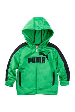 Puma  - Logo Poly Fleece Jacket