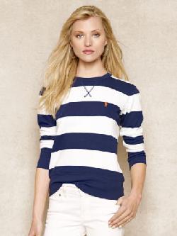Blue Label  - Striped Sweatshirt
