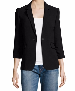 Elizabeth and James  - James Fitted Crepe Blazer