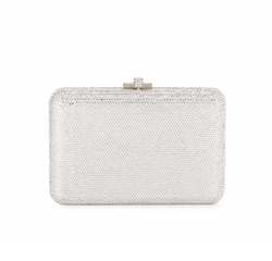 Judith Leiber Couture  - Slim Slide Crystal Evening Clutch Bag