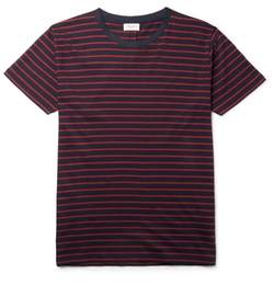 Saint Laurent - Striped Cotton Jersey T-Shirt