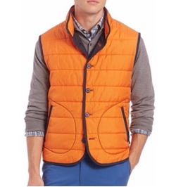 Saks Fifth Avenue Collection - Quilted Vest