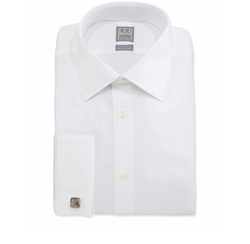 Ike Behar - Basic Solid Dress Shirt