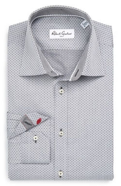 Robert Graham - Regular Fit Dot Dress Shirt