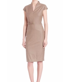 Max Mara  - Trine Fitted Sheath Dress