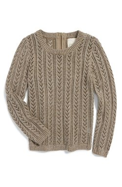 Peek  - Macie Metallic Knit Sweater