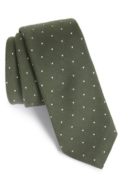 Todd Snyder White Label  - Dot Cotton & Silk Tie