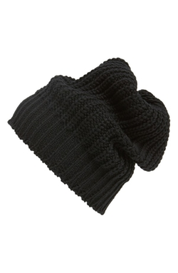 Rick Owens  - Rib Knit Wool Beanie