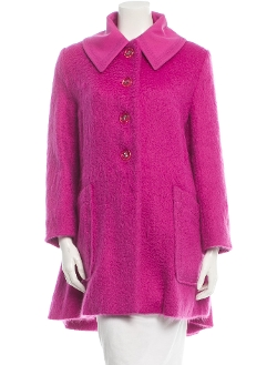 Yves Saint Laurent - Wool Oversize Long Sleeve Coat