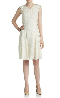 Nina Ricci - Lace Sheer-Back Dress