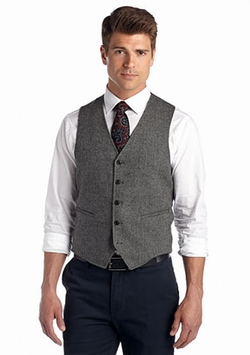 Madison - Herringbone Vest