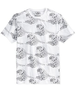 American Rag  - Printed Waves T-Shirt