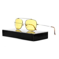 Retrosuperfuture - Primo Gold Chrome Sunglasses