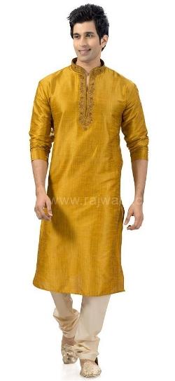 Rajwadi - Legendary Golden Yellow Kurta