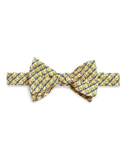 Brooks Brothers - Hook Link Print Bow Tie