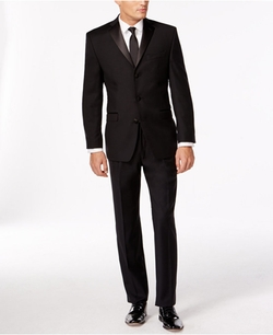 Calvin Klein - Three-Button Slim-Fit Tuxedo