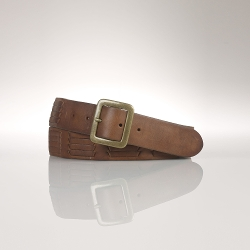 Ralph Lauren - Woven Leather Belt