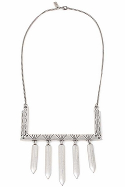 Henry & Belle - Vanessa Mooney Labyrinth Necklace In Silver