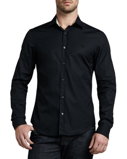 Burberry Brit - Henry Check-Trim Button-Down Shirt