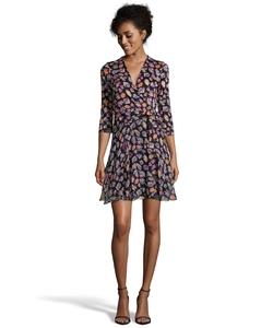 Diane Von Furstenberg - Floral Print Wrap Dress