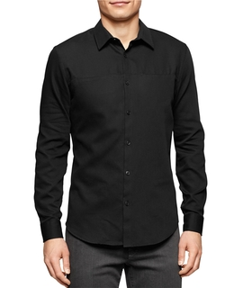Calvin Klein - Long-Sleeve Button-Down Shirt