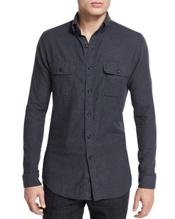 Todd Snyder  - Extra Trim Fit Utility Shirt
