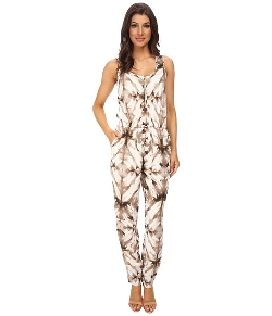 Calvin Klein - Print Tapered Bottom Jumpsuits