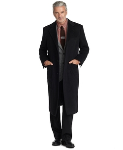 Golden Fleece - BrooksStorm Westbury Cashmere Overcoat