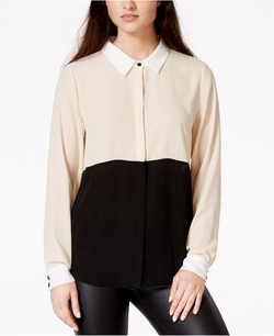 Sanctuary - Essential Modernist Colorblocked Shirt
