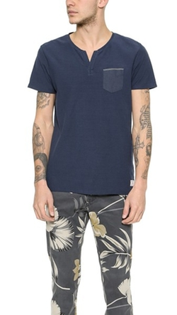 Scotch & Soda - Short Sleeve Oxford Pocket Tee