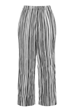 Topshop - Stripe Pleat Trousers