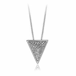 Glamorousky - Triangle Pendant Necklace