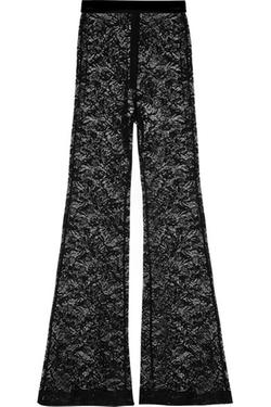 Balmain - Lace Flared Pants