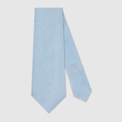 Gucci - Linen Silk Tie