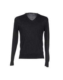 Hosio - V-Neckline Sweater