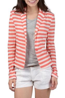 Color - Striped Blazer