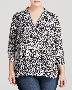 Vince Camuto - Animal Print Blouse