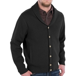 Pendleton  - Shawl Collar Cotton Knit Cardigan