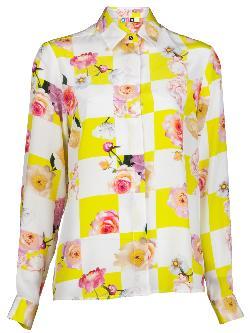 MSGM  - Floral blouse