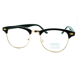 Juicy Orange - Clear Lens Eyeglasses