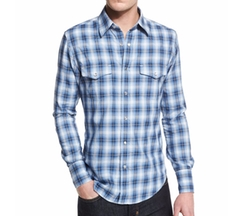 Tom Ford  - Western-Style Check Sport Shirt