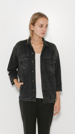 R13 - Over Sized Trucker Jacket