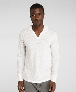 Threads 4 Thought - V Neck Pullover Slub Hoodie