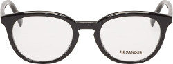 Jil Sander - Polished Round Optical Glasses