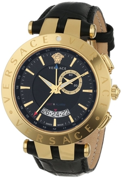Versace - V-Race Ion-Plated Stainless Steel Watch